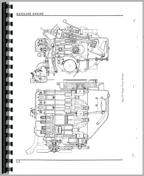 Cockshutt 1250 Tractor Service Manual