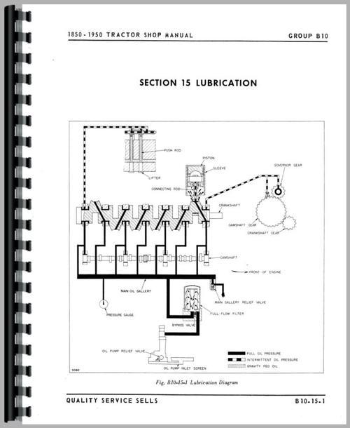 Cockshutt 1950 Tractor Service Manual