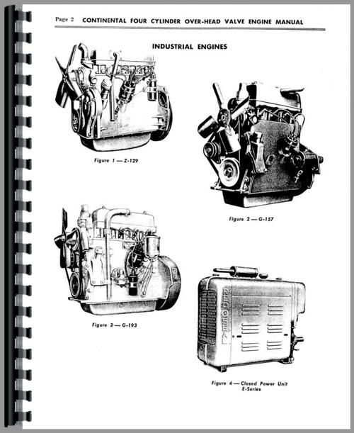 Continental Engines E-223 Engine Service Manual