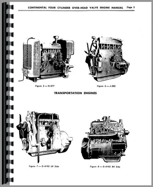 Continental Engines Z129 Engine Service Manual