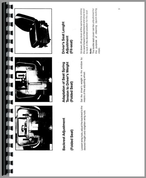 Deutz (Allis) 6250 Tractor Operators Manual