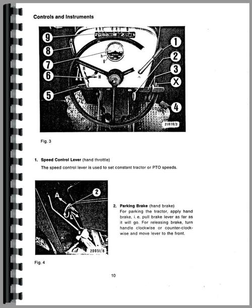 Deutz (Allis) D6806 Tractor Operators Manual