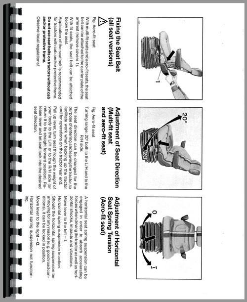 Deutz (Allis) DX6.10 Tractor Operators Manual