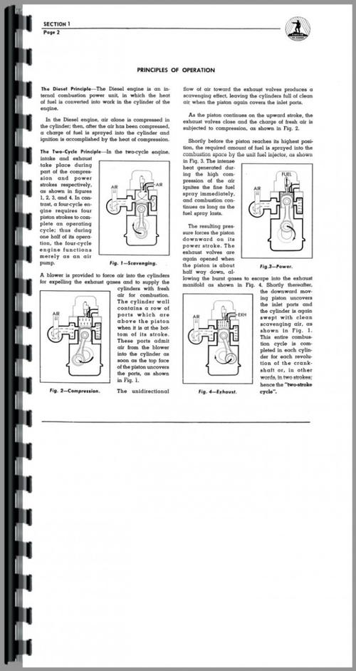 Euclid 31 TDT Tractor Detroit Diesel Engine Service Manual