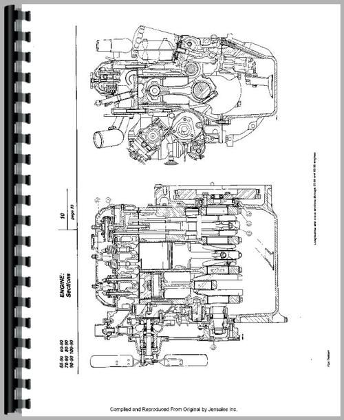 Fiat 100-90 Tractor Service Manual