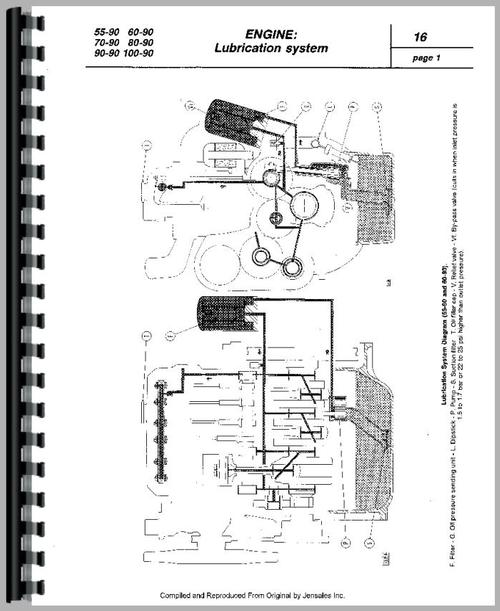 Fiat 80-90 Tractor Service Manual