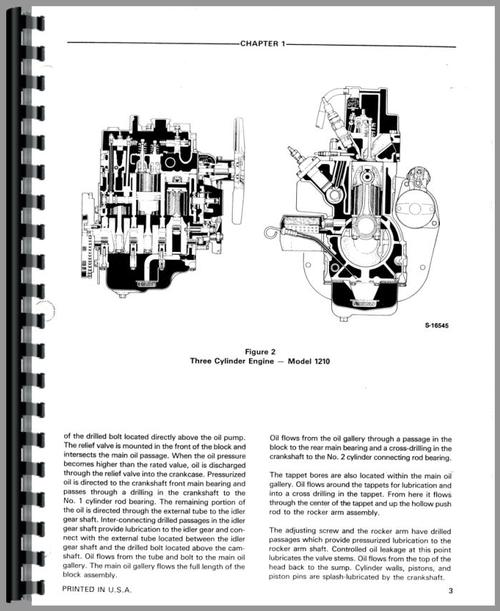 Ford 1210 Tractor Service Manual