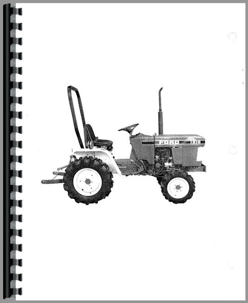 Ford 1215 Tractor Operators Manual