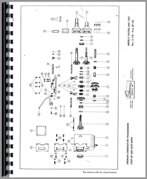 Ford 2N Sherman Transmission Service Manual