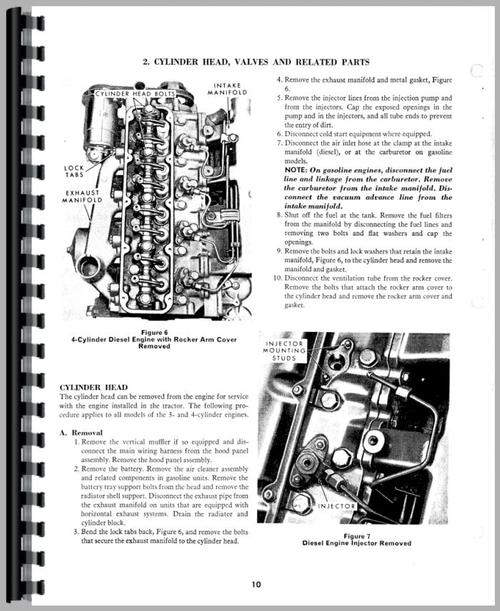 Ford 4000 Engine Service Manual