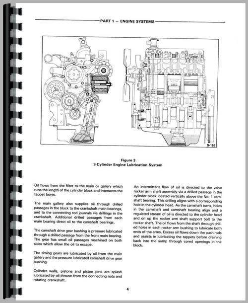 Ford 445A Tractor Loader Backhoe Service Manual