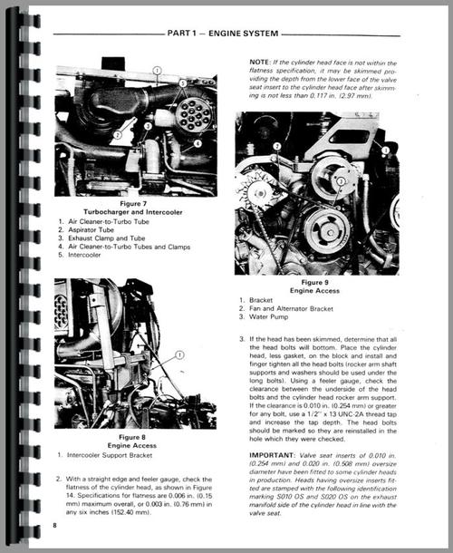 Ford TW 10 Tractor Service Manual