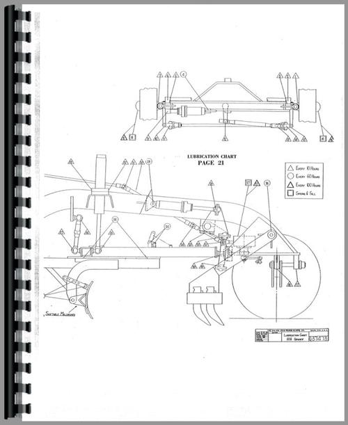 Galion 503 grader Service Manual