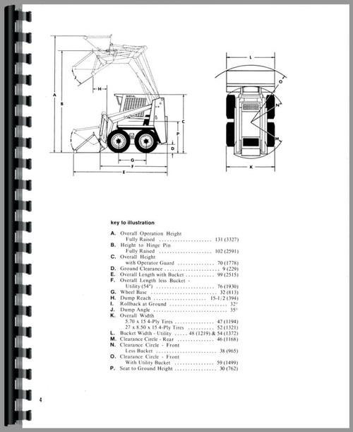 Gehl SL3410 Skid Steer Loader Operators Manual