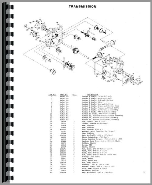 Gravely 8122 Lawn & Garden Tractor Parts Manual