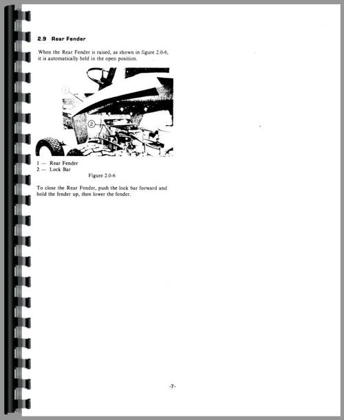 Gravely 8162T Lawn & Garden Tractor Operators Manual