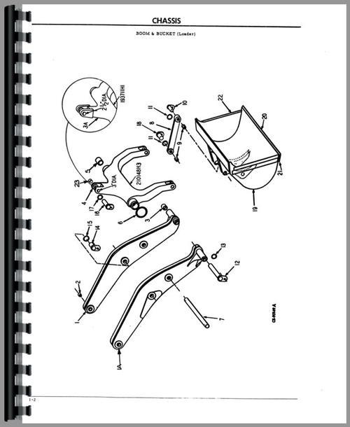 Hough D-90C Pay Dozer Parts Manual