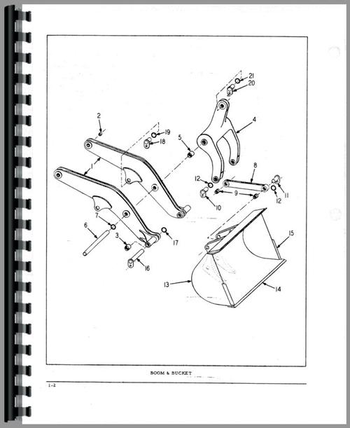 Hough H-100A Pay Loader Parts Manual