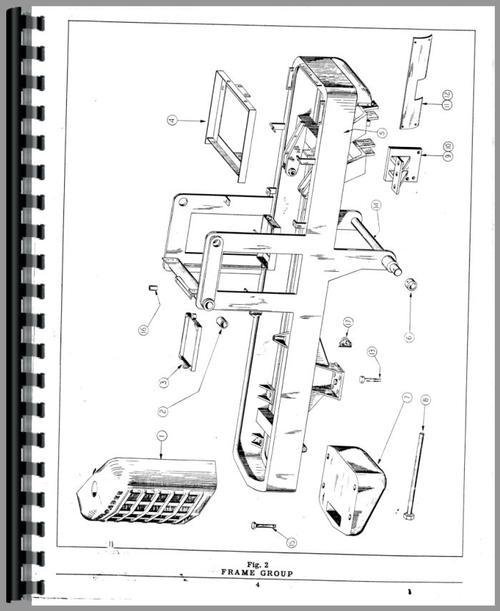 Hough HF Pay Loader Parts Manual