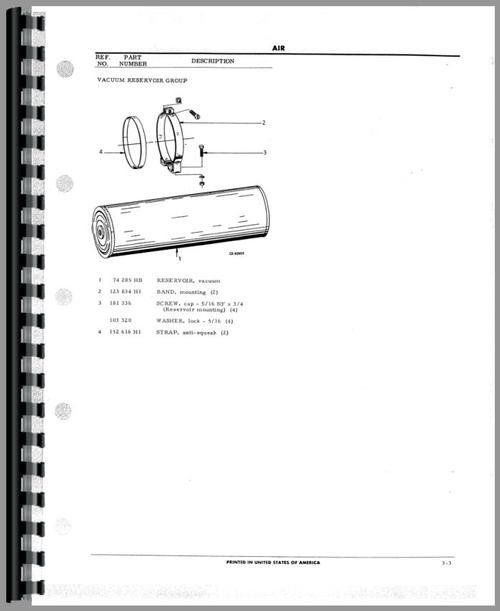 Hough T-225SL Paymover Tug Parts Manual