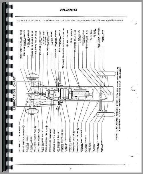 Huber M650 Grader Service Manual