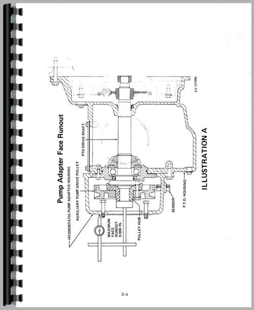 International Harvester 1460 Combine Service Manual