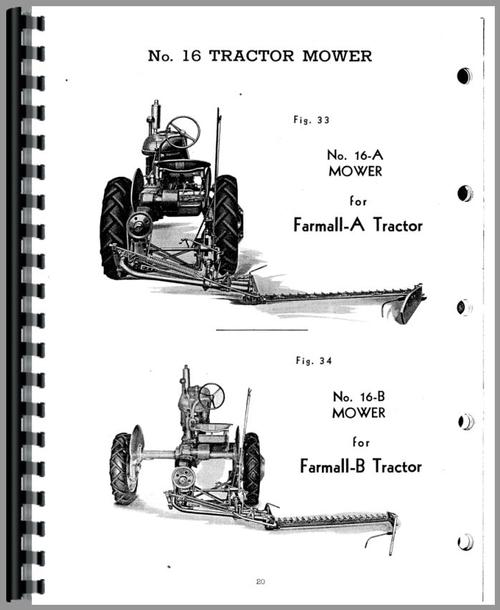 International Harvester 15 Bale Press Service Manual