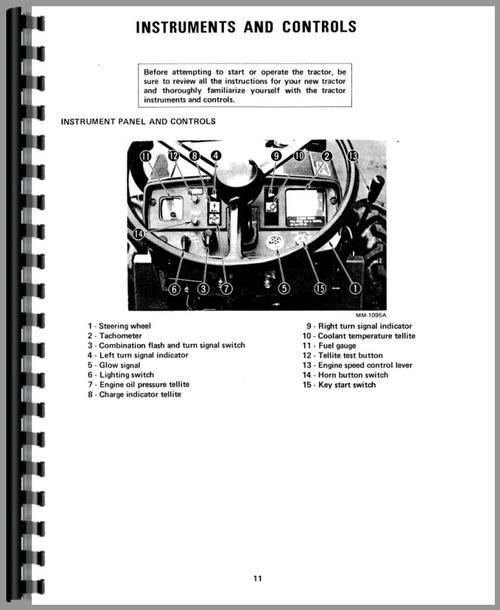 International Harvester 244 Tractor Operators Manual