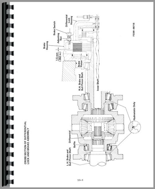 International Harvester 3688 Tractor Service Manual