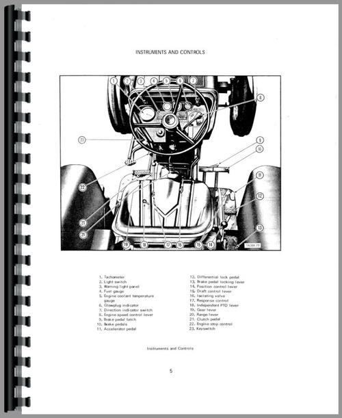 International Harvester 384 Tractor Operators Manual