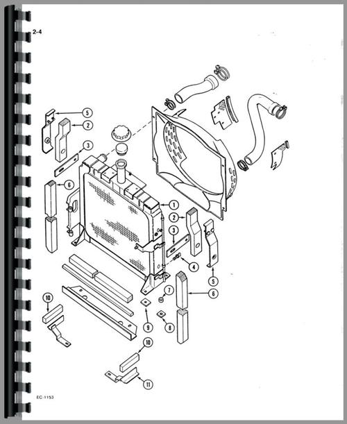 International Harvester 385 Tractor Parts Manual