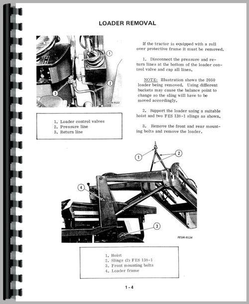 International Harvester 884 Tractor Service Manual