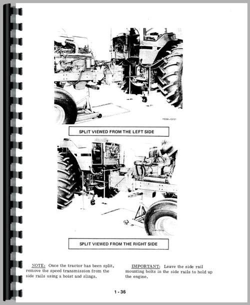 International Harvester 986 Tractor Service Manual