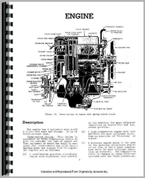 International Harvester U4 Power Unit Service Manual