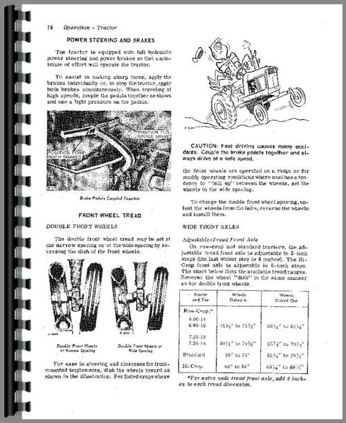 John Deere 3020 Tractor Operators Manual