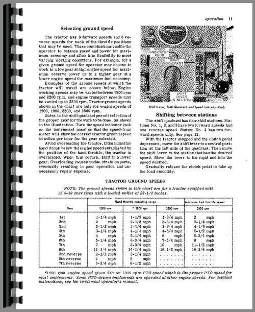 John Deere 4010 Tractor Operators Manual