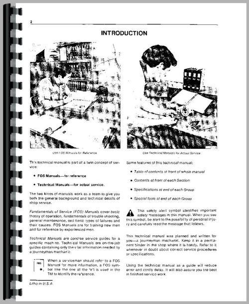 John Deere 4020 Tractor Service Manual
