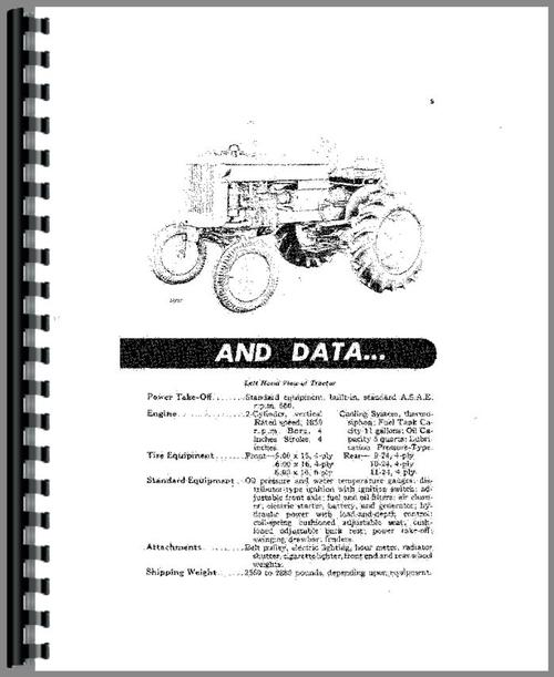 John Deere 40S Tractor Operators Manual