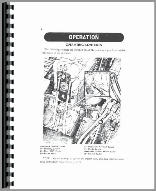 John Deere 420 Crawler Operators Manual