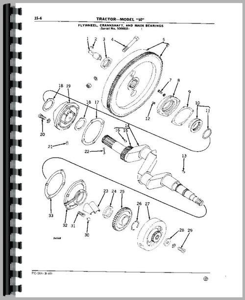 John Deere 50 Tractor Parts Manual