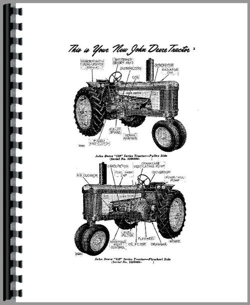 John Deere 530 Tractor Operators Manual