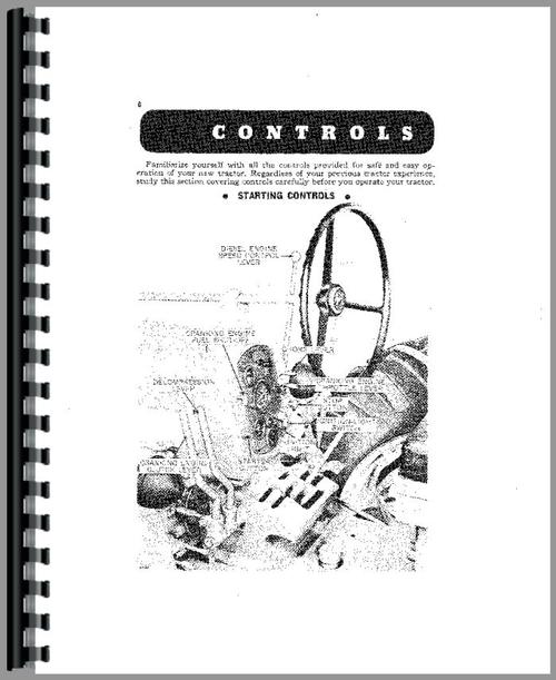 John Deere 720 Tractor Operators Manual