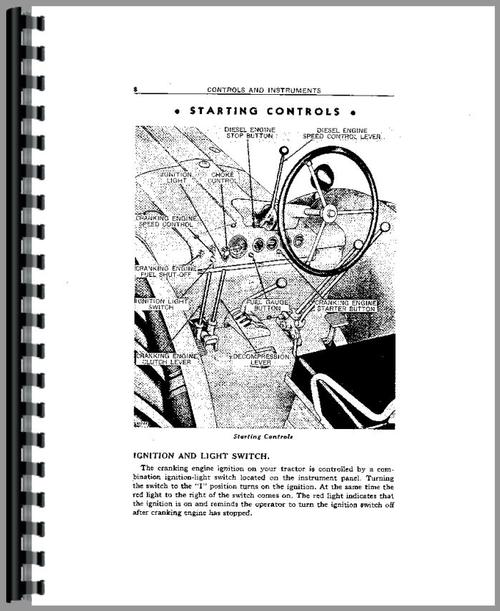 John Deere 80 Tractor Operators Manual