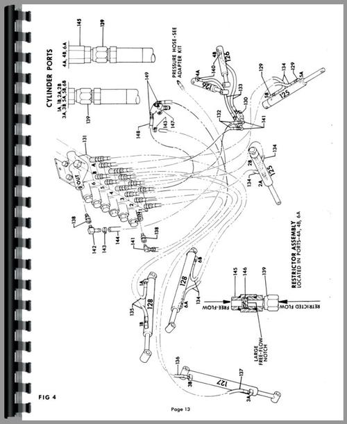 Kubota B670 Backhoe Attachment Parts Manual