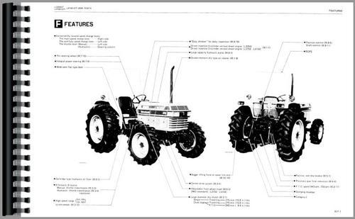 Kubota L4150 Tractor Service Manual