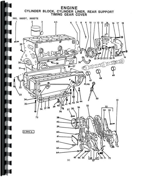 Long 610 Tractor Parts Manual
