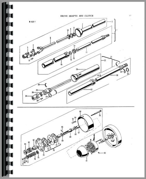 Massey Ferguson 12 Baler Parts Manual