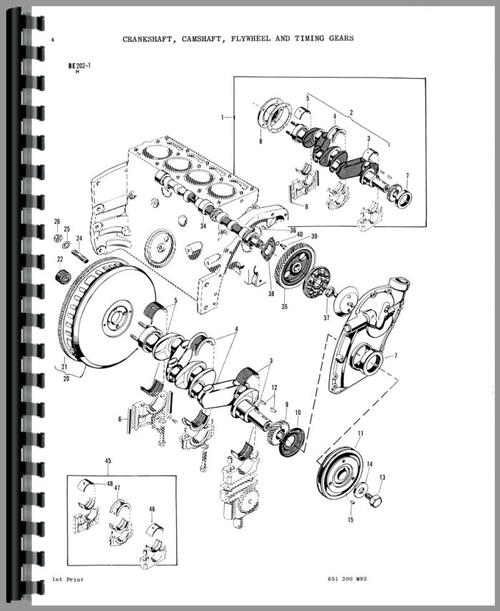 Massey Ferguson 150 Tractor Parts Manual