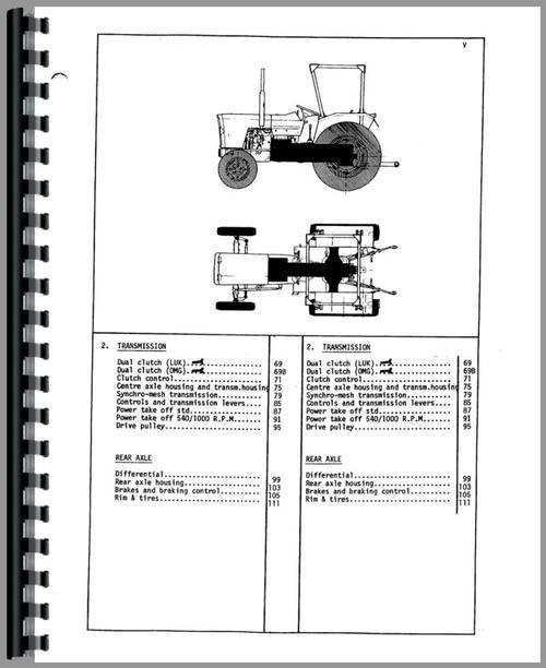 Massey Ferguson 154 Tractor Parts Manual