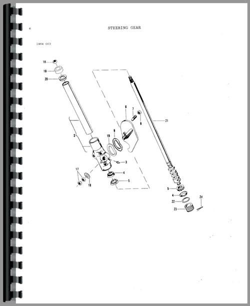 Massey Ferguson 16 Lawn & Garden Tractor Parts Manual